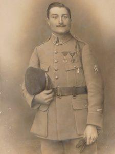 Lieutenant Fernand Catusseau du 109ième régiment d'infanterie